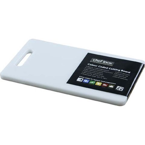 Cutting Board -PP 250x150x12mm White w/HDL