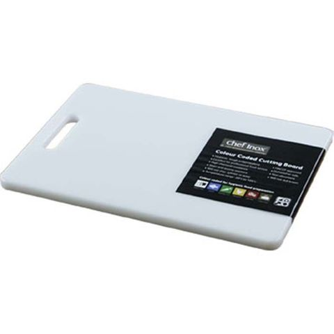 Cutting Board -PP 200x270x12mm White w/HDL