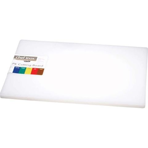 Cutting Board -PE 450x610x19mm White