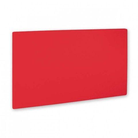 Cutting Board -PE 205x300x13mm Red