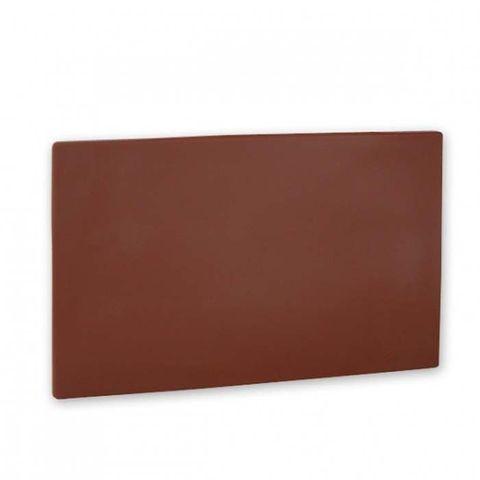 Cutting Board -PE 380x510x13mm Brown