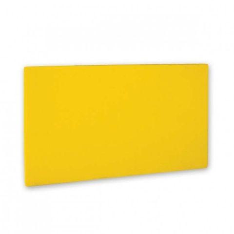 Cutting Board -PE 380x510x13mm Yellow