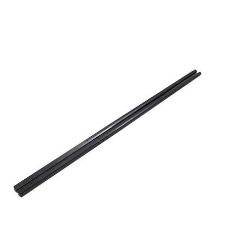 Alloy Chopsticks Black 27cm Qiauan(10/pack)