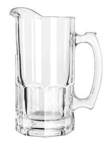 Libbey Gibraltar Glass Pitcher 1L- 1DOZ - LB5263