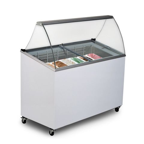 BROMIC Chest Freezer Gelato Display - 352L