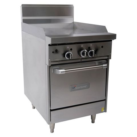 Garland Restaurant Range 600mm Griddle w Oven Nat Gas