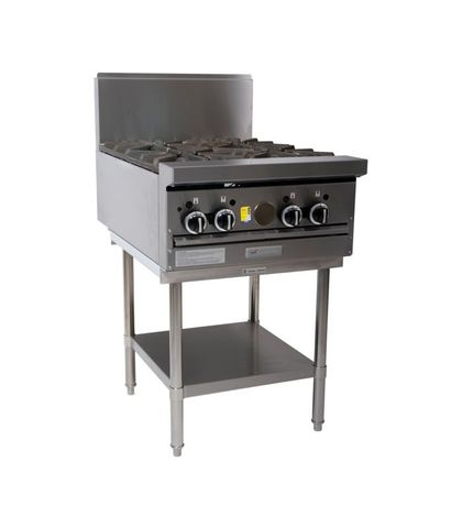 Garland HD Restaurant Series - 4 Open Burners - Natural Gas (600mm Wide)