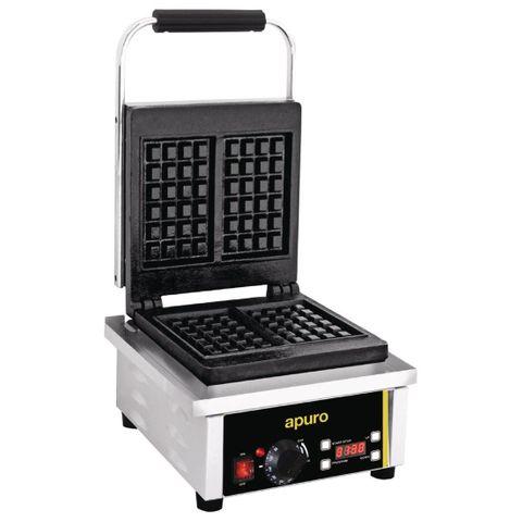 Apuro Waffle Maker 2kW Stainless steel