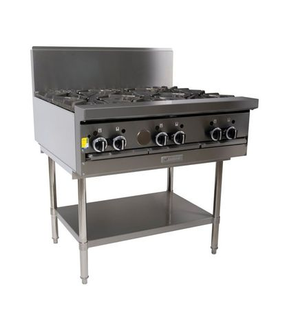 Garland HD Restaurant Series - 6 Open Burners - Natural Gas (900mm Wide)