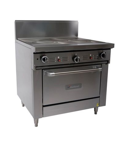 Garland HD Restaurant Series - 900mm Dual Target Top With Standard Oven - Natural Gas