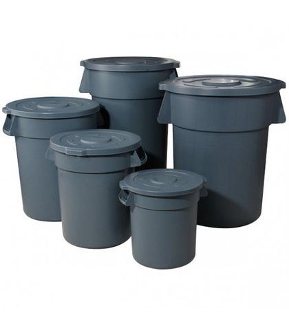120L Rubbish Bin with Lid