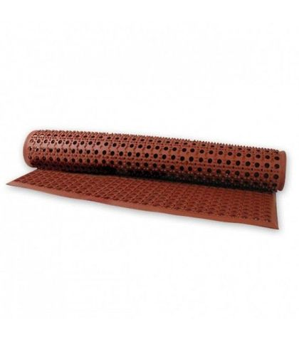 Rubber Mat-Terracotta 5x3ft/155x93cm