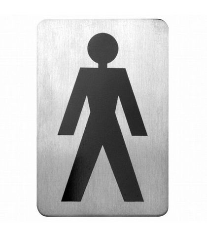 Wall Signs 18/10 Male Symbol