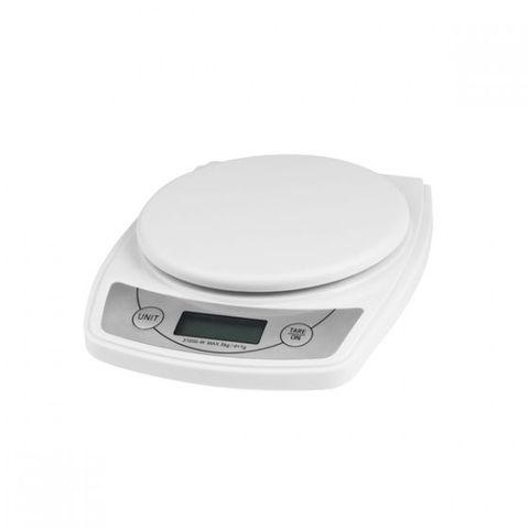 Digital Scale 5kg/1g Grad White