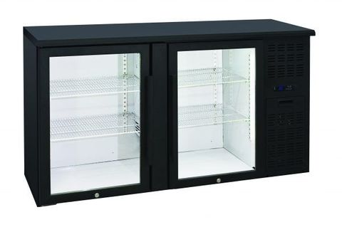 Anvil Aire Two Door Glass Backbar Fridge