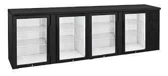 Anvil Aire Four Door Glass Backbar Fridge