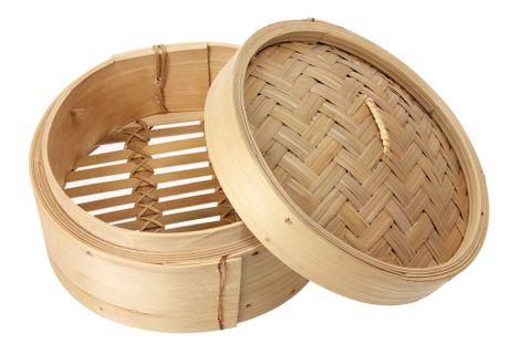 7'' Bamboo Steamer Base 180mm