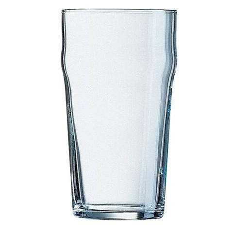 ARCOROC GLASS BEER NONIC 570ML C&N TEMPERED 48/CTN