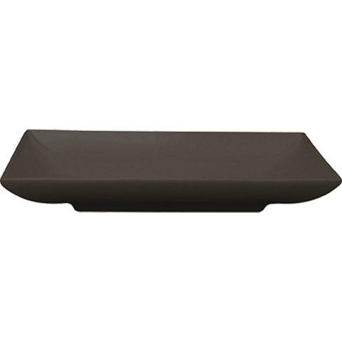 Square Plate 170x170mm RENE OZORIO AURA Matt Black (494017)