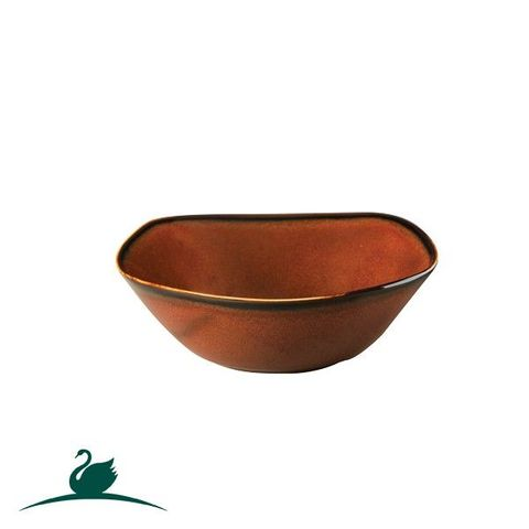 Square Coupe Bowl 170x170mm CAMEO Brown