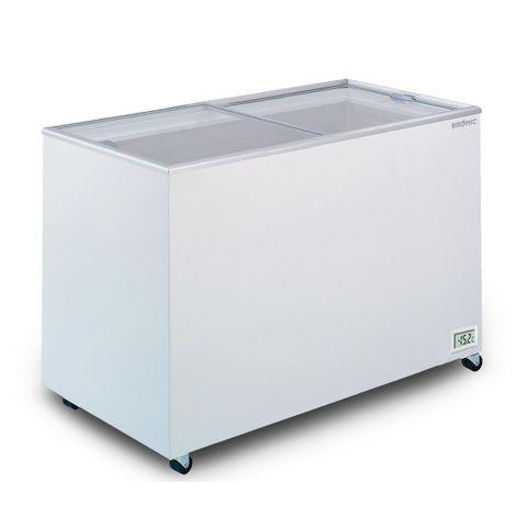 BROMIC Flat Glass Top 401L Display Chest Freezer