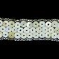 SHELL BEAD - TROCHUS PEARL DONUT - SMALL 8MM (48PCS)