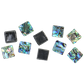 SHELL BEAD - PAUA BLOCK BRACELET - 15*15MM (DOZ)