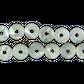 SHELL BEAD - TROCHUS PEARL DONUT - LARGE 15MM (27PCS)