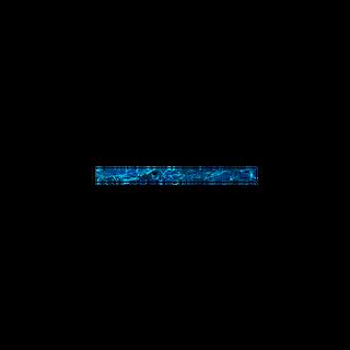 SHELL VENEER TILE - PAUA BLUE SAPPHIRE - 200*15