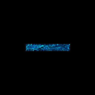 SHELL VENEER TILE - PAUA BLUE SAPPHIRE - 200*25