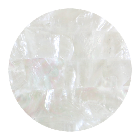White Mother of Pearl Strip