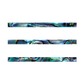 NZ Abalone Paua Shell Shape Strip