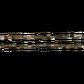SHELL BEAD - TROCHUS SMOKED - CUBE 4MM (100PCS)