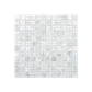Solid Shell Mosaic Tile - Freshwater Mother of Pearl White Square