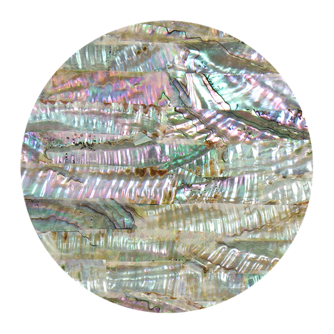 Uncoated Mexican Abalone Pink
