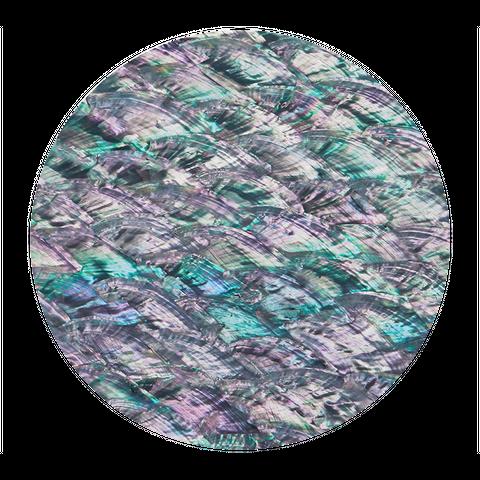 Abalone Pearl Natural Grey Metallic - Matt Coated