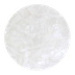 Uncoated White Mother of Pearl Mosaic A Grade - Painted back white
