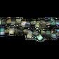 SHELL BEAD - PAUA NUGGET - SMALL (48PCS)