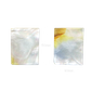 SHELL BLANK WMOP WY - RECTANGLE - FLAT, GROUND BACK, TUMBLED POLISHED - 50*40MM (DOZ)