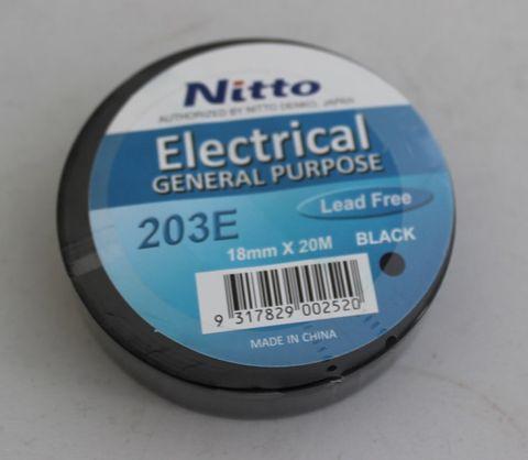 Nitto PVC Insulation Tape 18mm *20m