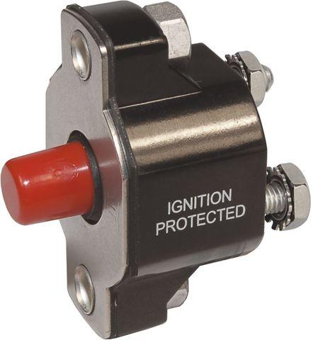 Blue Sea Circuit Breaker Push Button Medium Duty