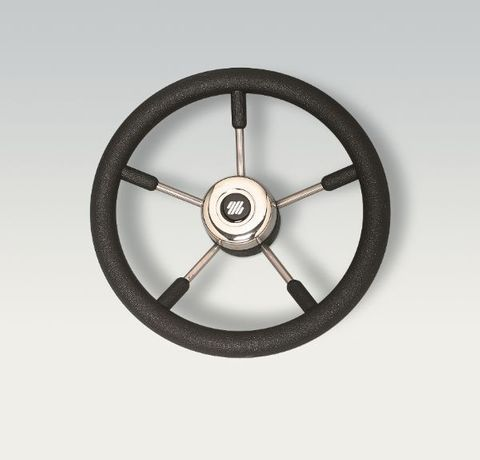 Ultraflex Steering Wheels - Stainless Steel - 5 Spoke