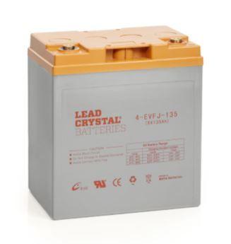 Lead Crystal EVFJ - Light Traction/Motive Battery, 8V