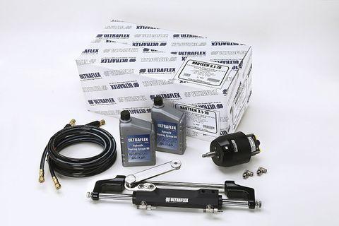 Ultraflex Outboard  Steering Kit - 300HP, Nautech OB1-R5