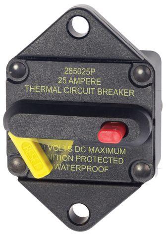 Blue Sea 285 Series Circuit Breaker Panel Mount
