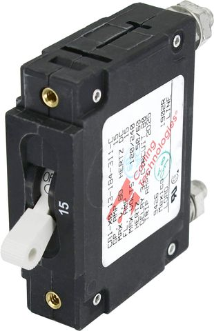 Blue Sea Circuit Breaker C Series Toggle - Single Pole