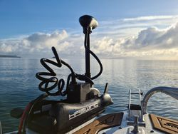 Upgraded Gen 1.5 Haswing trolling motor is more powerful with more features