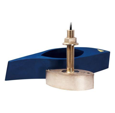 Raymarine B258 1kW Bronze Thru-Hull Transducer with Fairing Block