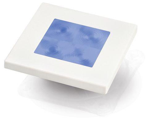Hella Marine LED Square Courtesy Lamp - Blue