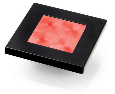 Hella Marine LED Square Courtesy Lamp - Red